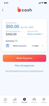 Bcash payment